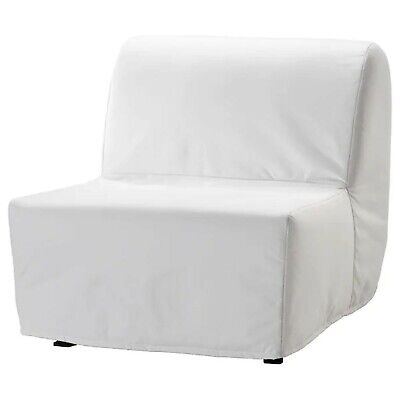 Ikea Cover Set For Lycksele Chair Bed In Ransta White  901.195.42 • 35£