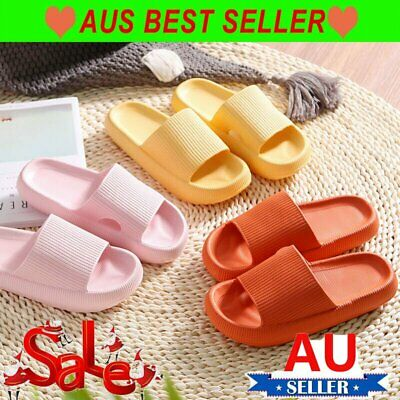 AU17.86 • Buy 2021 PILLOW SLIDES Sandals Ultra-Soft Slippers Extra Soft Cloud Shoes Anti-Slip