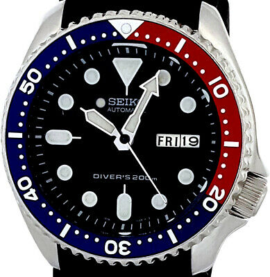 $ CDN51.15 • Buy Vintage Mens Watch SEIKO 7S26 Diver SKX PEPSI Mod W/all Original Sekio Hand Set