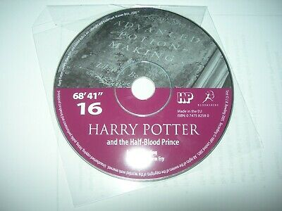 Harry Potter And The Half Blood Prince Audio Book On Cd Disc 16 & 10 • 2.95£