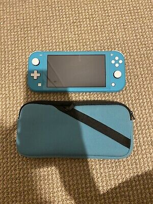 AU214 • Buy Nintendo Switch Lite TURQUOISE & Matching Case