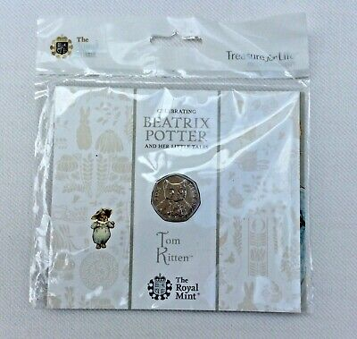 Beatrix Potter Commerative 50 Pence Coin • 1£