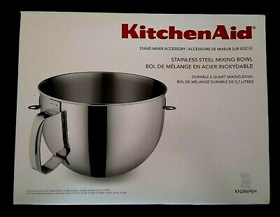$ CDN95.14 • Buy NEW IN BOX  KitchenAid BOWL For Stand Mixer 6-QT Stainless Steel KN2B6PEH