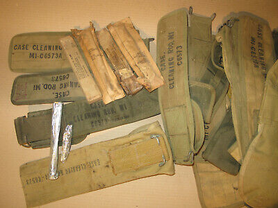 $29 • Buy US M1 Garand M10 Cleaning Kit In NOS & Case Cleaning Rod M1 C6573