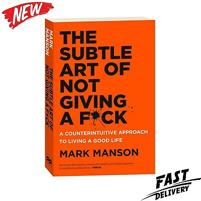 AU25.89 • Buy BRAND NEW The Subtle Art Of Not Giving A Fck F*ck F * Ck Fuck FAST FREE SHIPPING
