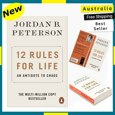 AU15.98 • Buy NEW 12 Rules For Life 2019 By Jordan B. Peterson Paperback Book | FREE SHIPPING