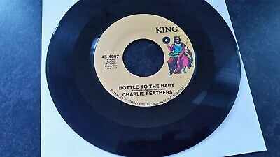 £24.99 • Buy Charlie Feathers   One Hand Loose   7  Single(1973)king 4497 Us Pressing Ex Viny