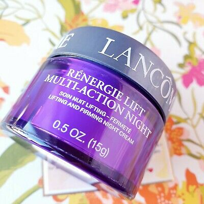 Lancome Renergie Lift Multi-Action NIGHT Lifting Firming Night Cream 0.5oz New • 8.68£