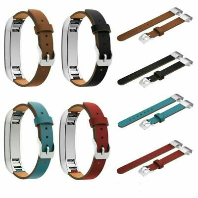 AU10.57 • Buy New Leather Wristband Band Strap Bracelet For Fitbit Alta HR Smart Tracker