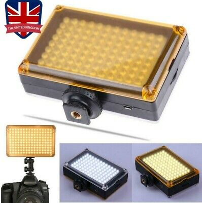 Bright 96 LED Studio Video Light For DSLR Camera Camcorder Photography Photo • 11.99£