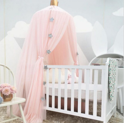 £12.63 • Buy Pink Hanging Canopy Baby Bed Mosquito Net Dome Dream Curtain Tent Children Room