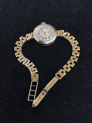 $ CDN3878.09 • Buy Antique Or Vintage 9ct Yellow Gold Rolex Woman Ladies  Watch Working Perfectly