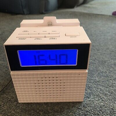 AU24.95 • Buy Home & Co Clock Alarm Radio With Apple Lightning IPhone IPod Dock CS754