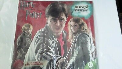 $ CDN3.81 • Buy  Harry Potter And The Deathly Hallows  16 Month 2011 Wall Calendar Used