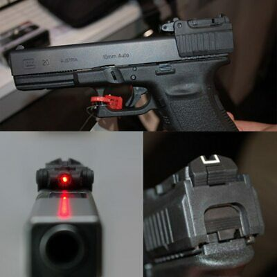 $ CDN25.36 • Buy Tactical Red Laser Sight For Airsoft Black KWA KSC Glock 17 19 22 23 25 26 27