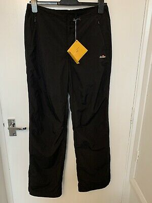 Ladies Size 12 Ellesse Shell Suit Quick Dry Outdoor Walking Trousers New Tags • 17.99£