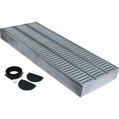 £30.99 • Buy Drainage Channel Garage Pack 3m Galvanised Grating + Fittings