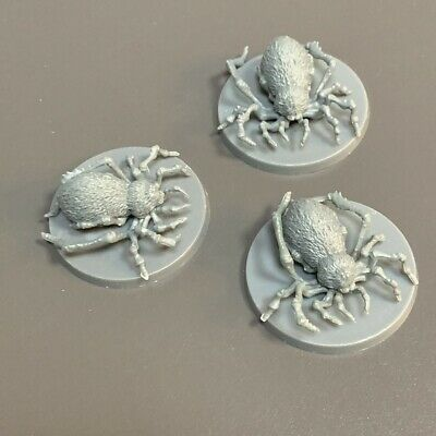 AU6.36 • Buy 3PCS Spiders Mini Miniatures Dungeons & Dragons Role-Playing Board Game Figure