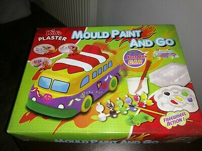 £2.50 • Buy Mould And Paint Vw Camper Van Craft Activity Set Kid's Gift