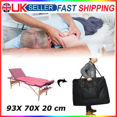 £19.88 • Buy Folding Massage Bed Carry Travel Bag Beauty Portable Therapy Couch Salon Case UK