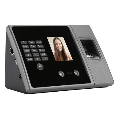 £59.99 • Buy Biometric Face Time Attendance Machine Time Recorder Clock Employees Checking-in