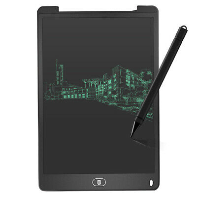 AU12.93 • Buy 12 Inch Digital LCD Writing Tablet Electronic Drawing Pads Board (Black)