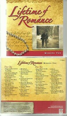 £1.99 • Buy LIFETIME OF ROMANCE - MISSING YOU 2 X CD / TIME LIFE LABEL / 1950s & 1960s