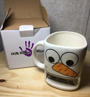 £18.11 • Buy OUR NAME IS MUD Snowman Dunk Mug 2015 Enesco Some Cookies Are Worth Melting For