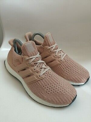 AU9.02 • Buy Adidas Ultra Boost 4.0 Champagne Pink Running Gym Trainers Size UK 7 Good Condit