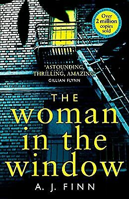 AU17.50 • Buy The Woman In The Window: The Top Ten Sunday Times Bestselling Debut Crime Thrill