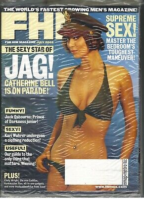 AU40.96 • Buy Sealed July 2002 Fhm For Him Fhm Magazine #23 Catherine Bell W/supplement