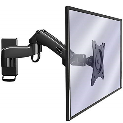 Invision Monitor Arm Wall Mount Bracket For PC Monitor & TV - To Fit Screens 17 • 38.22£