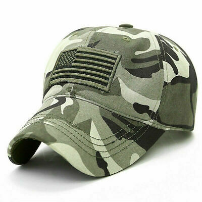 £5.99 • Buy Mens Baseball Caps Military Army Camo Hat Outdoor Camouflage Truck Snapback Cap