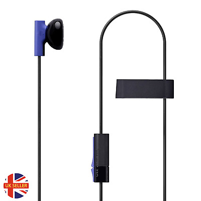 £4.99 • Buy Official Sony Playstation 4 PS4 Mono Chat Earbud Earphone With Mic Headset