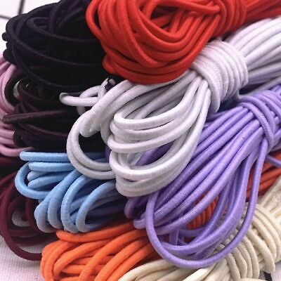 $ CDN3.06 • Buy Round Red High Elastic Rubber Band Cord For Jewelry Making Accessories Ornaments