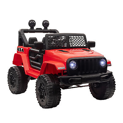 £154.99 • Buy HOMCOM 12V Kids Electric Ride On Car Truck Off-road Toy W/ Remote Control Red