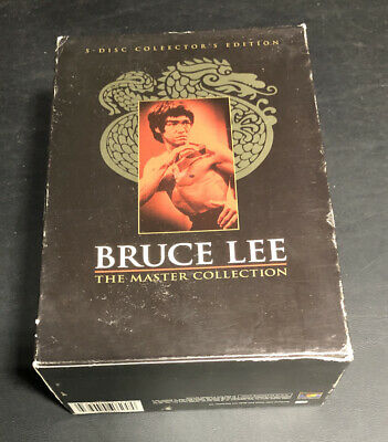 £29.02 • Buy Bruce Lee - The Master Collection (DVD, 2002, 5-Disc Set)