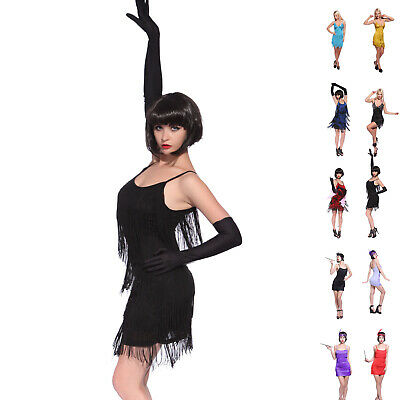 £12.99 • Buy 20s Tiered Flapper Dress Charleston Gatsby Prom Evening Party Dance Outfit