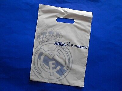 £4.99 • Buy REAL MADRID PUNCH HANDLE GIFT CARRIER BAG FROM 2000s
