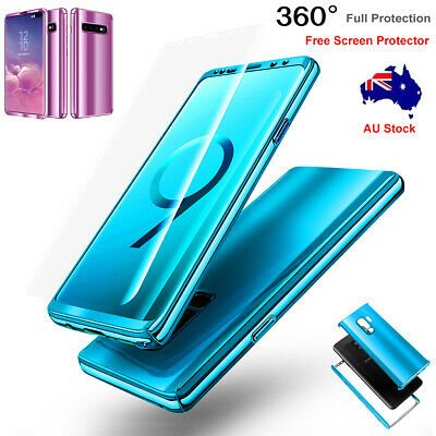 AU7.99 • Buy For Samsung Galaxy S8+ S9+ S10+ 360° Shockproof Full Case Cover Screen Protector