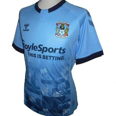 £37.99 • Buy COVENTRY CITY FC Official Hummel Men's Home Football Shirt 2020-2021 NEW