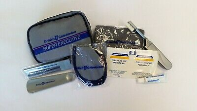 British Caledonian Inflight Amenity Kit • 4.95£