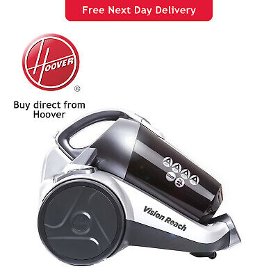 £84.99 • Buy Hoover Vision Reach Bagless Cylinder Cyclonic Vacuum Cleaner BF81VS02