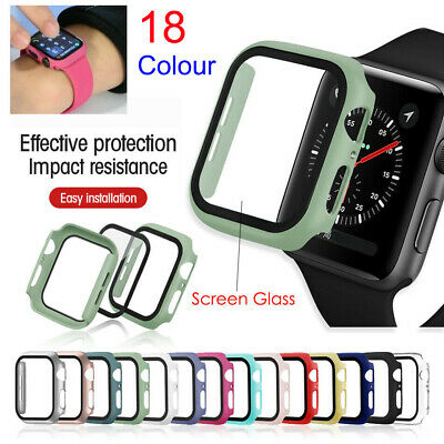 $ CDN6.02 • Buy Full Protective Cover Case / Screen Protector For Apple Watch Series 1-6 SE All