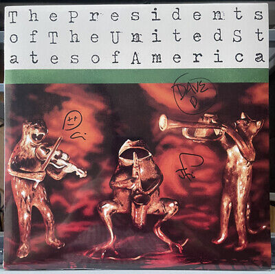 £123.90 • Buy Presidents Of The United States Of America - Sealed New Autographed Color LP