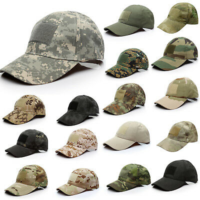 £6.07 • Buy Mens Tactical Combat Baseball Cap Military Army Outdoor Camouflage Trucker Hat