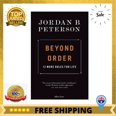 AU25.76 • Buy Beyond Order: 12 More Rules For Life By Jordan B. Peterson | Paperback Book NEW