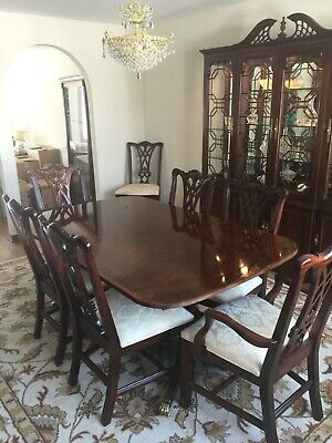 $1200 • Buy Dining Room Set By Thomasville. Table, Chairs, China Cabinet