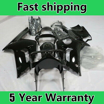 $378.10 • Buy Painted Black Fairing Kit Fit For Kawasaki 2003-2004 03-04 6R 636 ZX-6R ABS