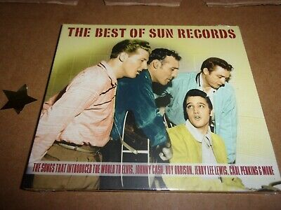 £4 • Buy THE BEST OF SUN RECORDS - 2 CD BOX SET - ELVIS, JOHNNY CASH & MORE New Sealed